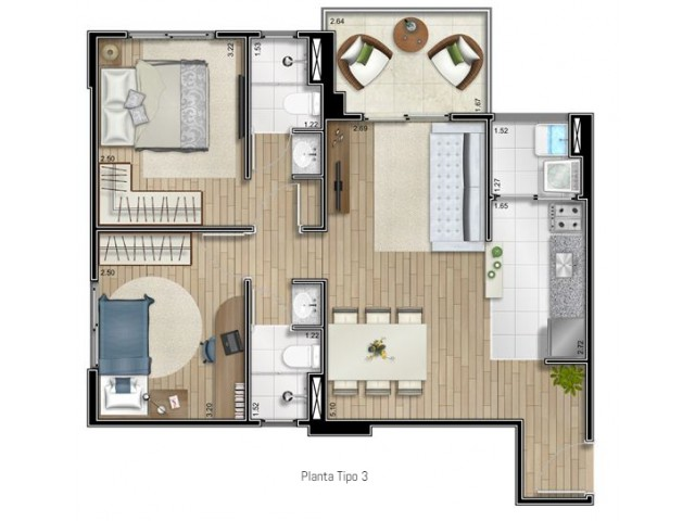 Apartamento Inside Guarulhos preço