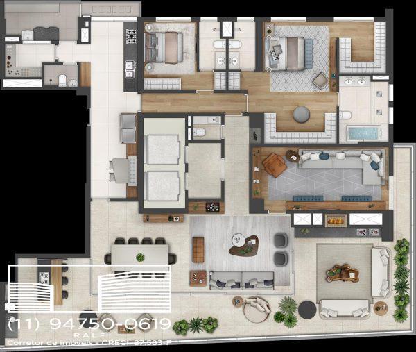 Apartamento Itaim Bibi venda – Preço Endereço Planta