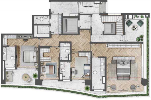 Lavvi Villa Ibirapuera – Cyrela – Imóvel Alto Padrão