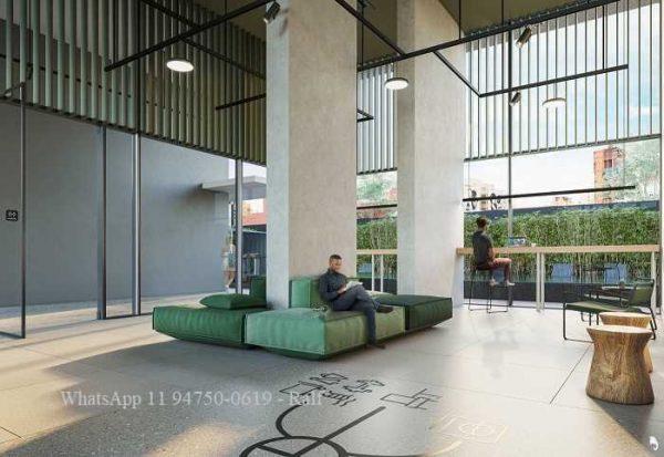 Studios H.S Pinheiros – Planta, Fotos, Preço, Decorado