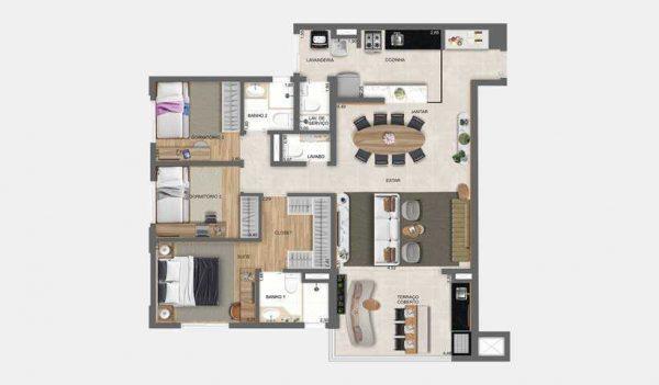 Unique Green City América Apartamentos – Lançamento