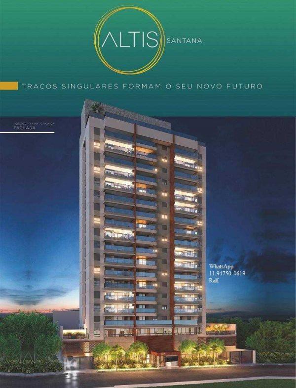 Altis Santana Apartamentos   Lançamento, construtora, Planta
